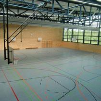 Sportbereich ( Sturmfederhalle )