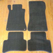 tappeti mercedes classe c in velluto lusso grigio