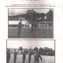 Passation de commandement CNE Barrois.