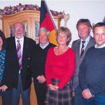 8.11.2014, création officielle de l' amicale franco-allemande des anciens de la garnison de Donaueschingen.
