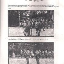 Passation de commandement, CNE Aoust.