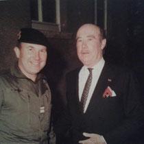 Le colonel Mignot avec le Prince de Fürstenberg.