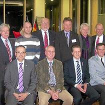 Bernhard Kaiser, Kévin Guth, Franz Mayer, Rudy Barth, Jean-Jaques Glé, Gerhard Lauffer, Georg Schwende, Colonel Roux, Thorsten Frei und Major Deckert.