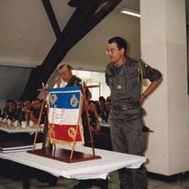 1994, repas des cadres, le col Falzone termine son commandement.