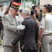 Remise de l' Ordre National du Mérite à Monsieur Bernhard Kaiser, Bürgermeister de Donaueschingen.