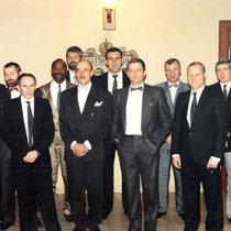 1995, bal du 110 à Braünlingen, quelques anciens autour du Col Favier.