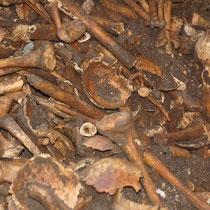 Auch Massengräber wurden hier entdeckt