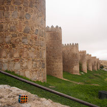Muralla de Ávila, Castilla y León. Enviada por Bárbara