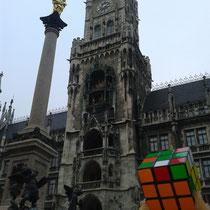 Marienplatz, München, Alemania. Enviada por Pilar