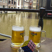 Canales de Ámsterdam, Países Bajos. Enviado por Emilia