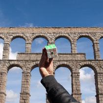 Acueducto de Segovia, Segovia, España. Enviada por Bárbara