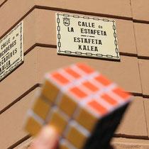 Estafeta kalea (Calle la Estafeta), Pamplona. Enviada por Álvaro