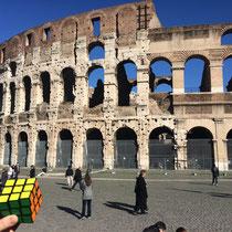 Coliseo romano, Roma, Italia. Enviada por Jose