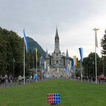 Lourdes, Francia. Enviada por Álvaro