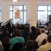 Andreas Hertel live bei Leipzig Pianos bei der Buchmesse Leipzig 2014
