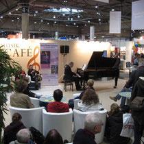 Andreas Hertel live auf der Buchmesse Leipzig 2014