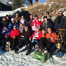 Weltcup St.Moritz mit dem besten Fanclub :-)