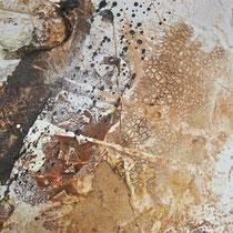 """Safari"" Detailaufnahme - 120x80x3,5 cm - Malerei von Linda Ferrante"