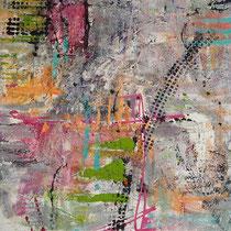 """""""Auf Den Zweiten Blick"""" - 80x120x3,5 cm - Malerei von Linda Ferrante"""
