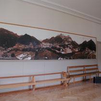 Panoramafoto im Schulsaal