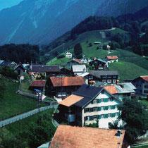 Blick vom Schulhaus gegen Norden
