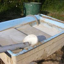 Recuperation des boue de forage