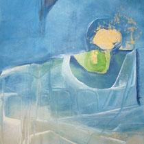 1988, DU-ICH, 20 x 29, Enkaustik, Privatbesitz Hamburg