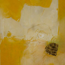 1996, o.T., 40x50, Enkaustik, Privatbesitz Bonn