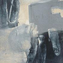 1995, UNTERWEGS, 49,5 x 60, Enkaustik