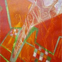1964, GENUG, 37 x 51, Graffito