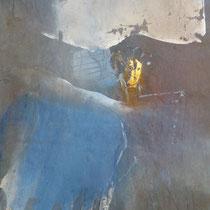 2000, DIE TAENZERIN, 48 x 60, Enkaustik, Privatbesitz Hamburg