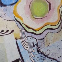 1971,o.T, 38 x 45, Aquarell
