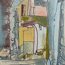 1963, o.T., 26 x 36, Aquarell