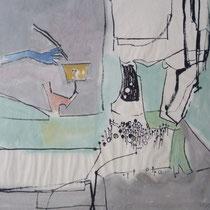 1964, o.T., 49,5x38, Aquarell