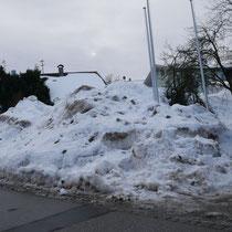 Rekordmengen Schnee