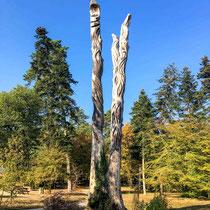 Arboretum des Barres - Totem