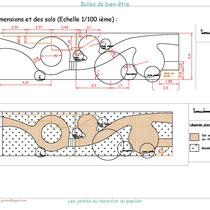 Exemple de métré et plan des sols