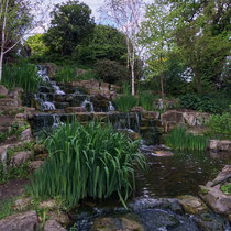 Cascade, Queen Mary's Garden, Londres  - © Sandrine Tellier