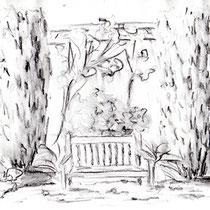Espace de repos intime - Bois des Moutiers à Varengeville