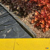 """Jeu de couleurs : """"Habiter le mur"""" au Festival international des jardins de Chaumont sur Loire 2019"""