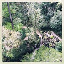 Quinta da Regaleira - Dédale de chemins © Sandrine Tellier