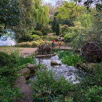 Charmant pont, Queen Mary's Garden, Londres  - © Sandrine Tellier