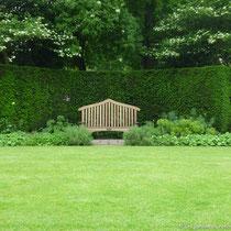 Banc, Saint John's Lodge garden, Regent's Park, Londres  - © Sandrine Tellier