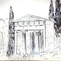 Le temps des pierres - Trésor des Athéniens à Delphes