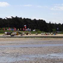 Die Kite Surf Schule in Sahlenburg am Strand