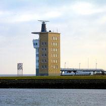 Der Radarturm von Cuxhaven