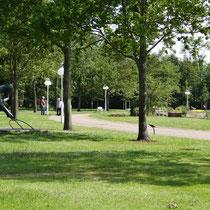 Veranstaltungszentrum und Kurpark an der  Kugelbake Halle in Döse