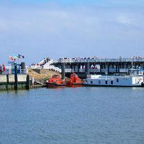 Die Alte Liebe im Hafen von Cuxhaven