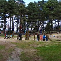 Der Spielplatz im Wernerwald von Sahlenburg