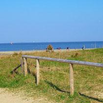 Der Strand in Sahlenburg